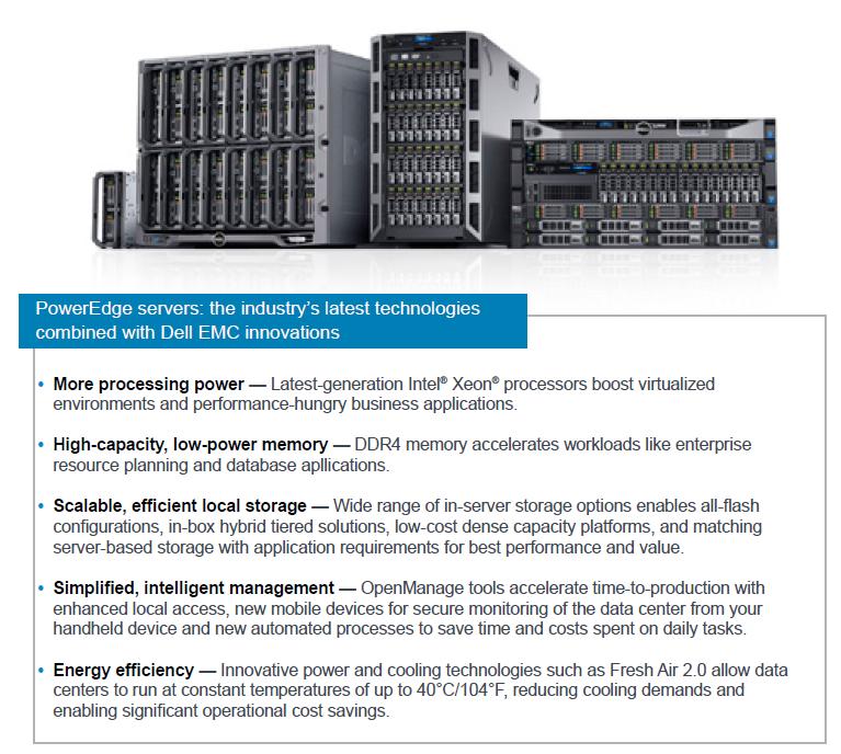 Dell EMC PowerEdge Stack