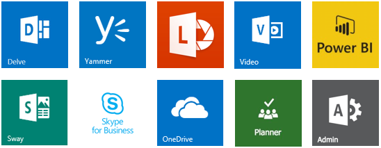 Office 365 Mobile Productivity apps
